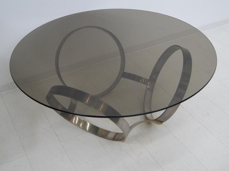 5201-Glastisch-Tisch-Designer Tisch-Beistelltisch-Bauhaus 1