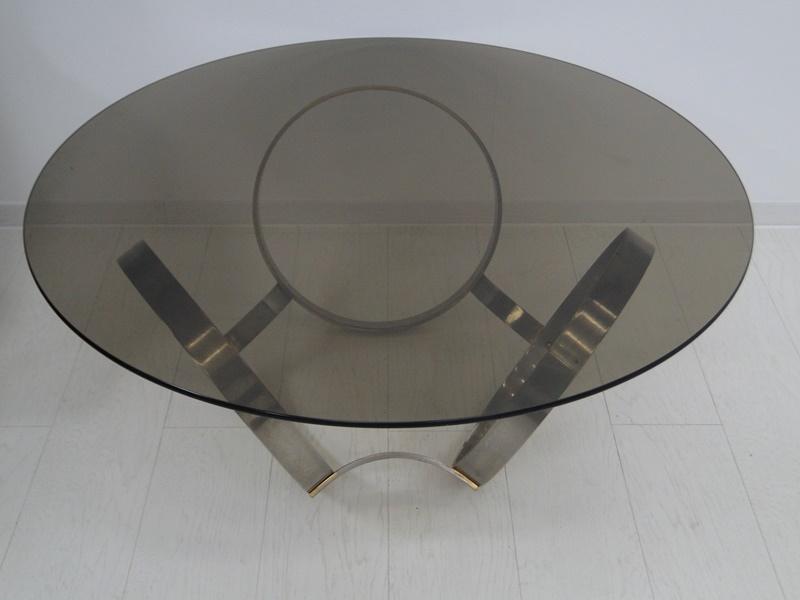 5201-Glastisch-Tisch-Designer Tisch-Beistelltisch-Bauhaus 2