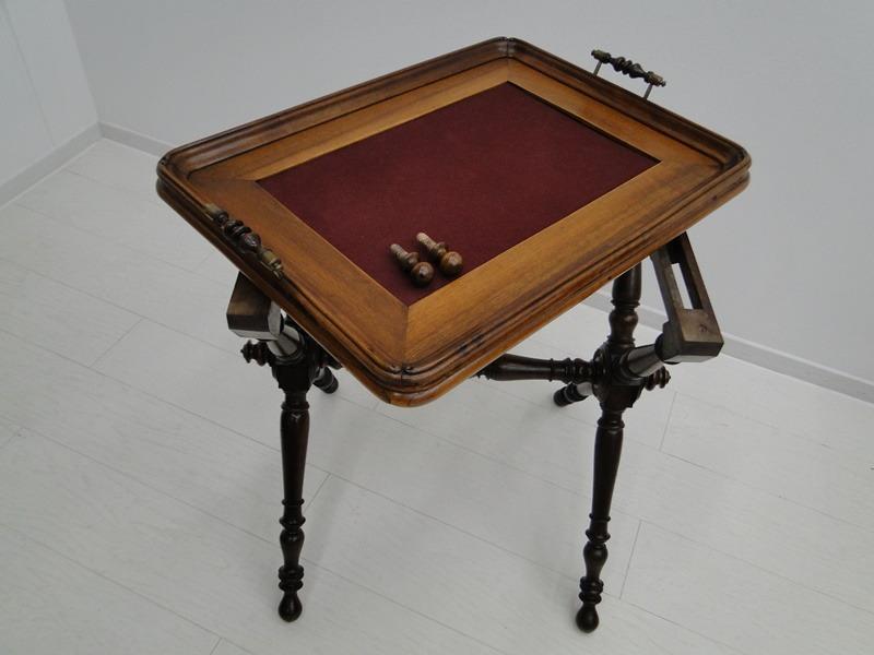 5223D-Serviertablett-Tablett-Beistelltisch-Serviertisch-Tisch-Historismus-altdeu 0