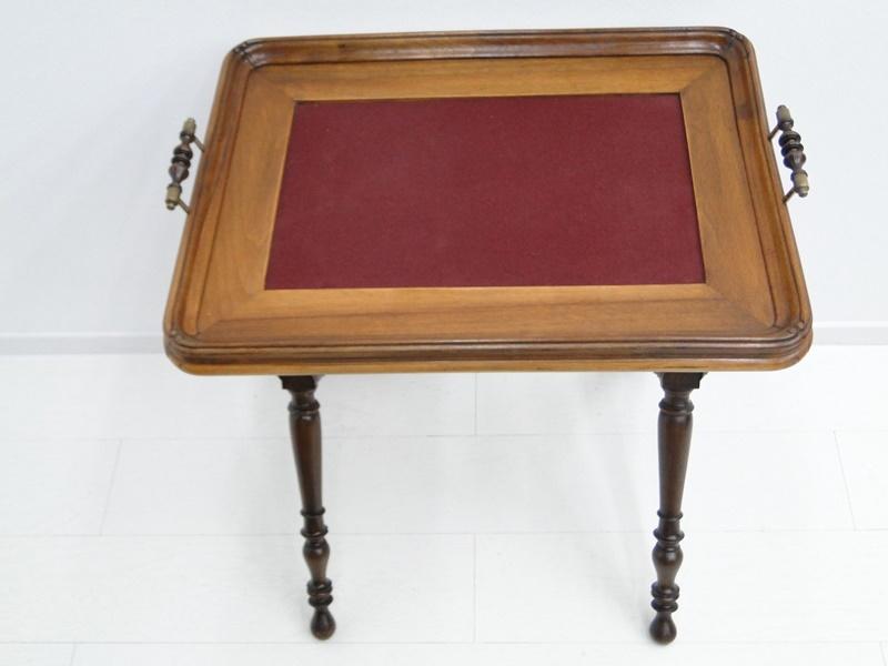 5223D-Serviertablett-Tablett-Beistelltisch-Serviertisch-Tisch-Historismus-altdeu 3
