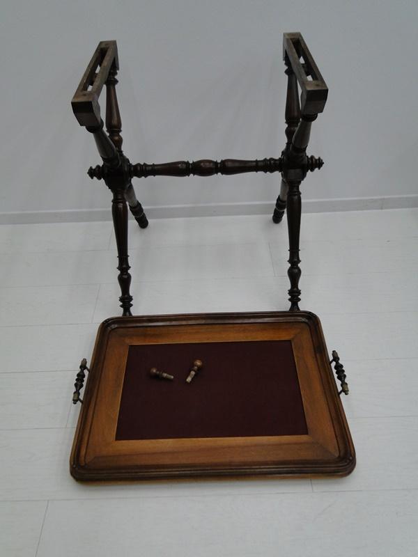 5223D-Serviertablett-Tablett-Beistelltisch-Serviertisch-Tisch-Historismus-altdeu 5