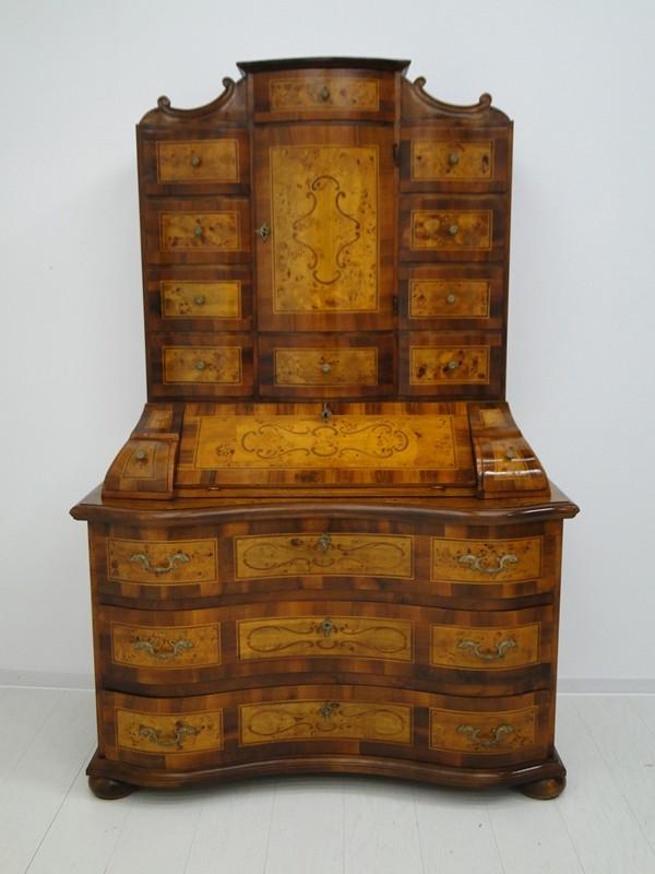 5150D-Tabernakel-Sekretär-Tabernakel-Barockstil Tabernakel-Stilmöbel-Schreibmöbe 0