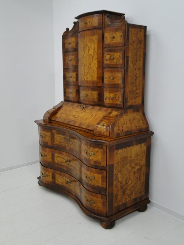5150D-Tabernakel-Sekretär-Tabernakel-Barockstil Tabernakel-Stilmöbel-Schreibmöbe 1