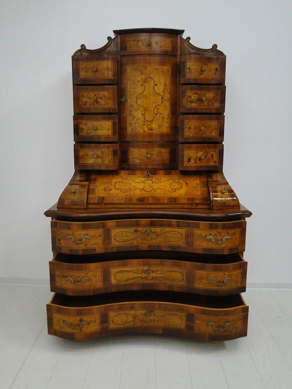 5150D-Tabernakel-Sekretär-Tabernakel-Barockstil Tabernakel-Stilmöbel-Schreibmöbe 4