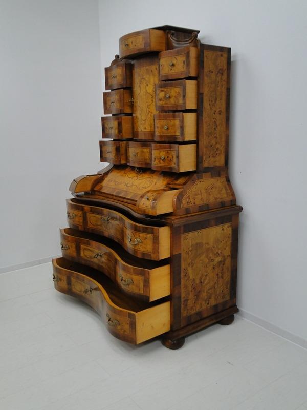 5150D-Tabernakel-Sekretär-Tabernakel-Barockstil Tabernakel-Stilmöbel-Schreibmöbe 5