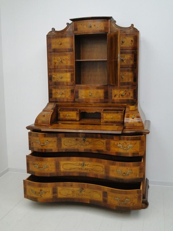 5150D-Tabernakel-Sekretär-Tabernakel-Barockstil Tabernakel-Stilmöbel-Schreibmöbe 6