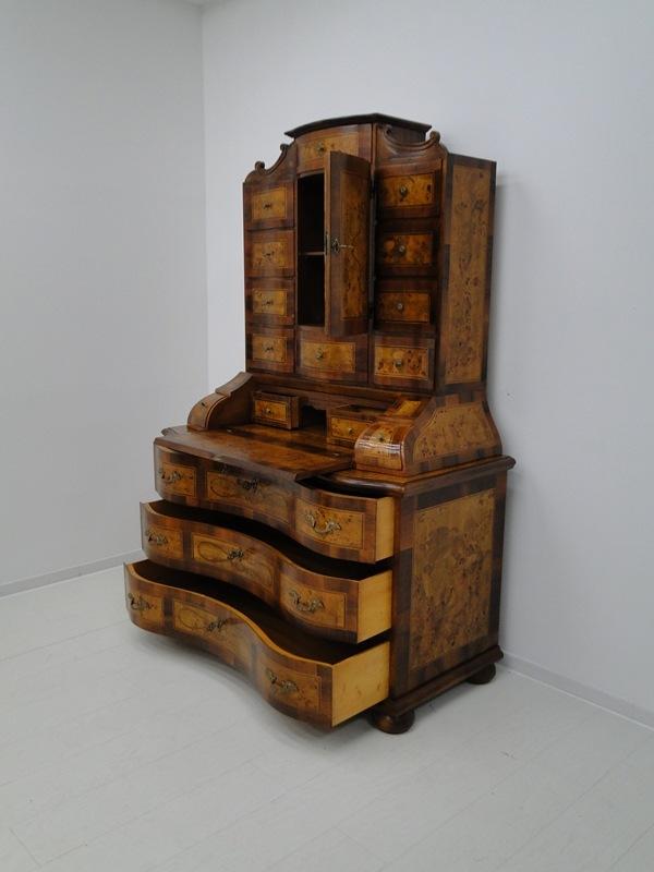 5150D-Tabernakel-Sekretär-Tabernakel-Barockstil Tabernakel-Stilmöbel-Schreibmöbe 7