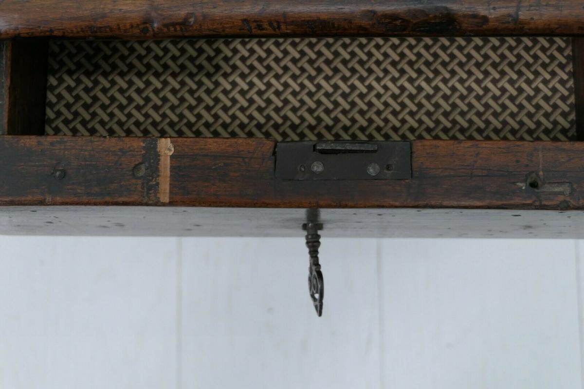6124-Schreibtisch-rustikal-Tisch-Schreibmöbel 10