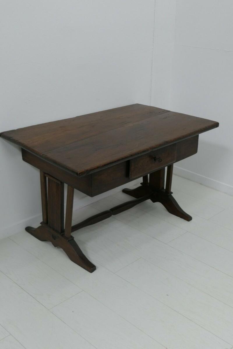 6124-Schreibtisch-rustikal-Tisch-Schreibmöbel 2