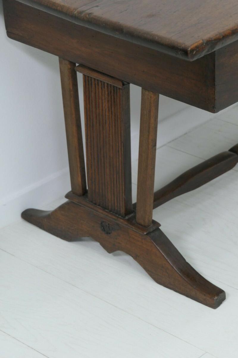 6124-Schreibtisch-rustikal-Tisch-Schreibmöbel 3
