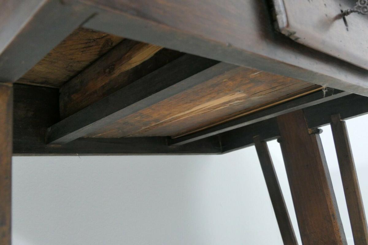 6124-Schreibtisch-rustikal-Tisch-Schreibmöbel 6