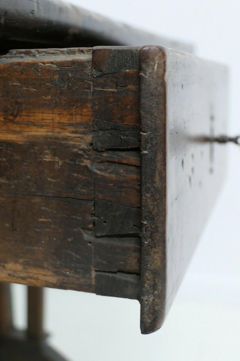 6124-Schreibtisch-rustikal-Tisch-Schreibmöbel 7