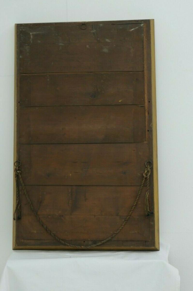 6026D-Ochsenaugenrahmenspiegel-Hallenspiegel-Spiegel-Gaderobenspiegel-128x80cm 6