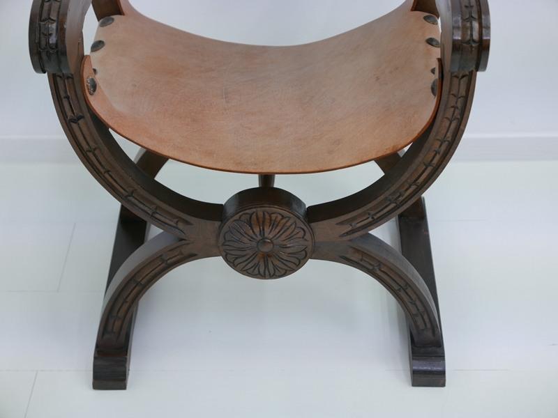 4607D-Ledersessel-Armlehnenstuhl-Rittersessel-Sessel-Stuhl-Armlehnensessel-Leder 1