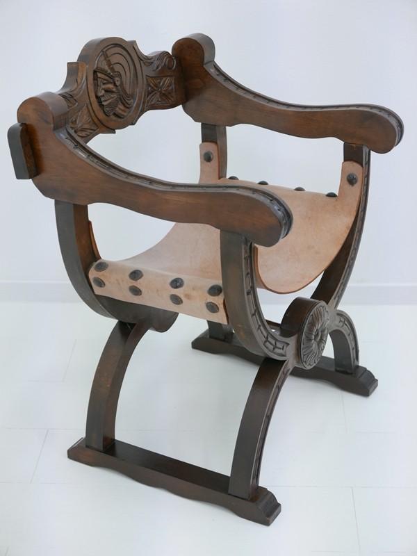 4607D-Ledersessel-Armlehnenstuhl-Rittersessel-Sessel-Stuhl-Armlehnensessel-Leder 5