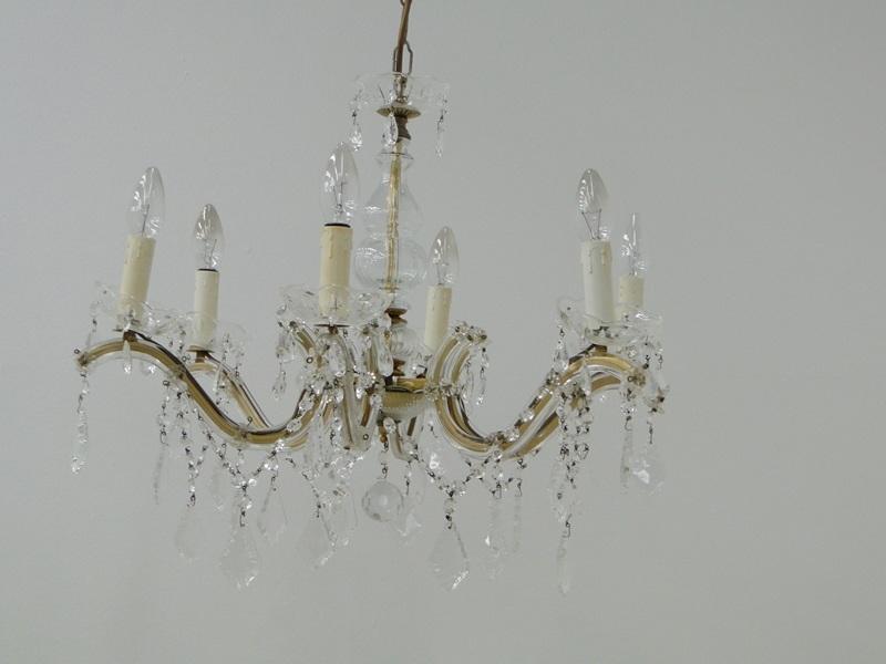 5485-Luster-Deckenlampe-Lampe-Lüster-Deckenlüster-Kronleuchter-Glasluster 0