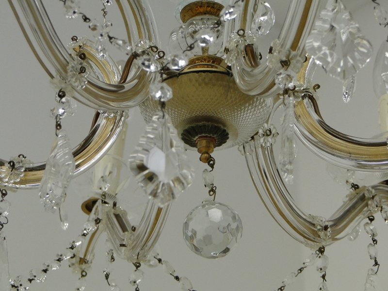 5485-Luster-Deckenlampe-Lampe-Lüster-Deckenlüster-Kronleuchter-Glasluster 3