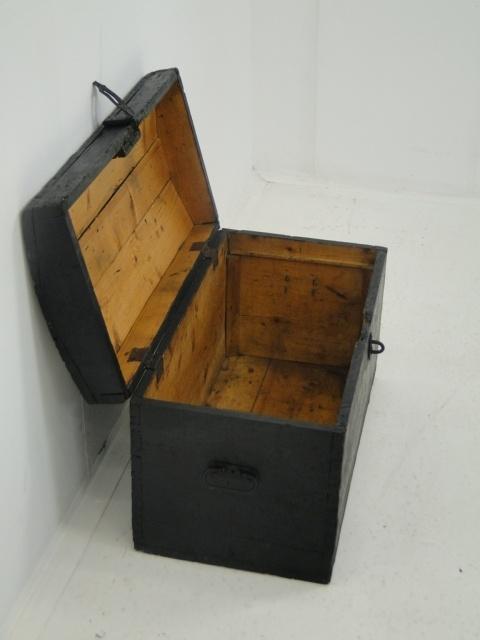 3694-Schatztruhe-Schatzkiste-Truhe um 1900-Holzkiste-Kiste um 1900-Holzkiste 4