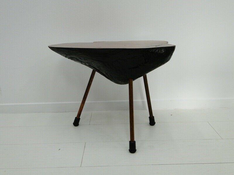 6112D-Auböcktisch-Beistelltisch-Salontisch-Baumtisch-Designertisch-Tisch-Blument 2