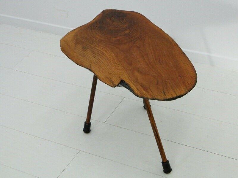 6112D-Auböcktisch-Beistelltisch-Salontisch-Baumtisch-Designertisch-Tisch-Blument 6