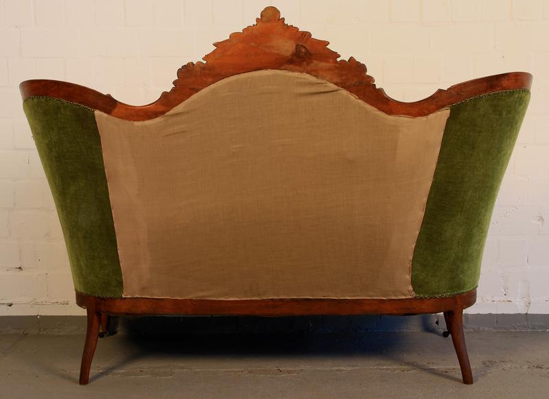 Vierteilige louis philippe salon sitzgruppe sofa und 3 for Salon louis philippe