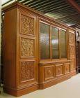 Heller Bücherschrank / Highboard aus der Neorenaissance um 1930 Antik Kolosseum 3