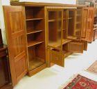 Heller Bücherschrank / Highboard aus der Neorenaissance um 1930 Antik Kolosseum 6