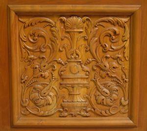 Heller Bücherschrank / Highboard aus der Neorenaissance um 1930 Antik Kolosseum 9