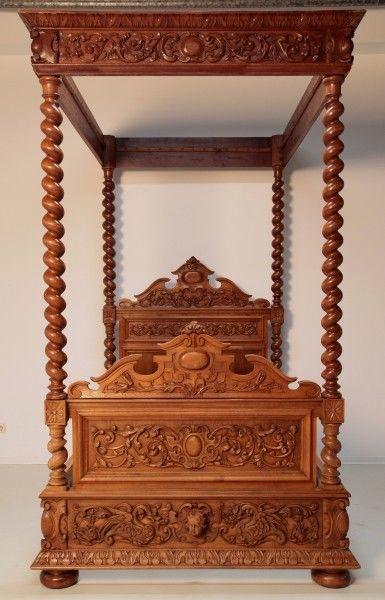 betten antik kaufen verkaufen m bel antik auf oldthing. Black Bedroom Furniture Sets. Home Design Ideas