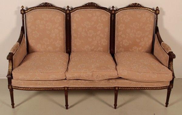 Salonsitzgruppe im Empire Stil gefertigt in den 50er Jahren Antik Kolosseum 1