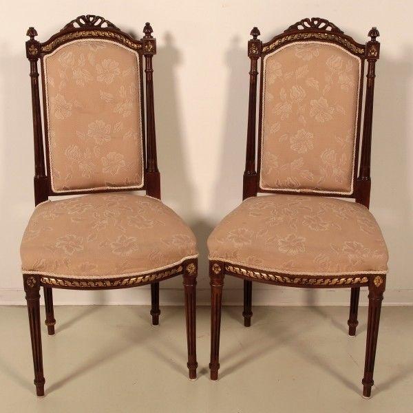 Salonsitzgruppe im Empire Stil gefertigt in den 50er Jahren Antik Kolosseum 11