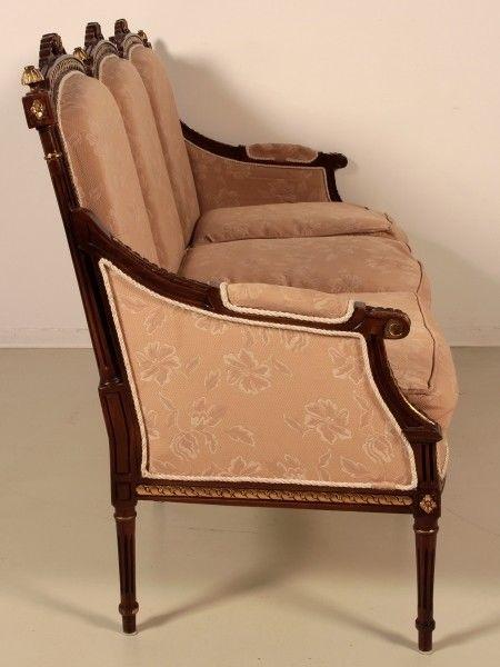 Salonsitzgruppe im Empire Stil gefertigt in den 50er Jahren Antik Kolosseum 4