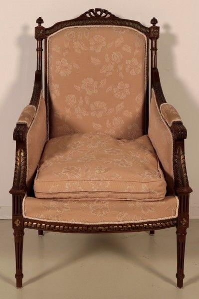 Salonsitzgruppe im Empire Stil gefertigt in den 50er Jahren Antik Kolosseum 8