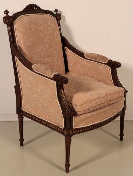 Salonsitzgruppe im Empire Stil gefertigt in den 50er Jahren Antik Kolosseum 9