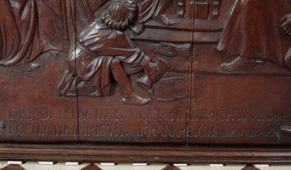 Original Barock Holz - Relief mit Krönungsszene gefertigt um 1740Antik Kolosseum 5