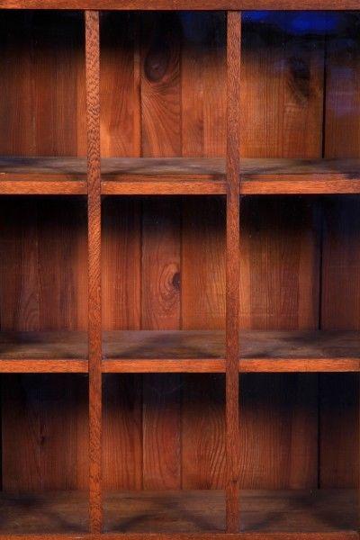 Altberliner Jugendstil Bücherschrank aus Eiche gefertigt um 1900 Antik Kolosseum 3
