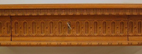 Traumhafter heller Wangenschreibtisch aus der Neorenaissance Antik Kolosseum 10