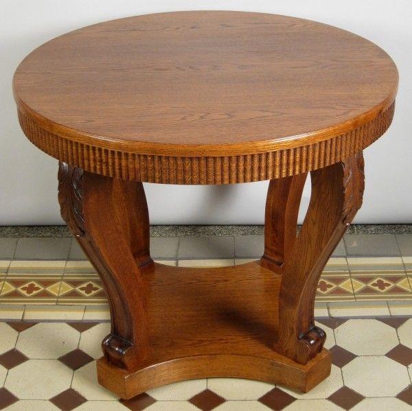 Schöner Beistell- Tisch aus der Neorenaissance gefertigt um 1920 Antik Kolosseum