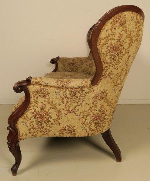 Original louis philippe sofa aus mahagoni gefertigt um for Schlafsofa antik