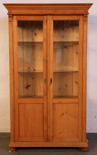 kleine gr nderzeit weichholz vitrine gefertigt um 1900 antik kolosseum nr 272802919789. Black Bedroom Furniture Sets. Home Design Ideas