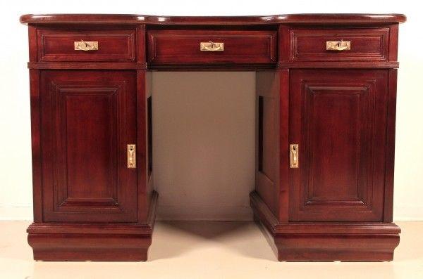 Restaurierter Jugendstil Damen - Schreibtisch aus Mahagoni Antik Kolosseum 0