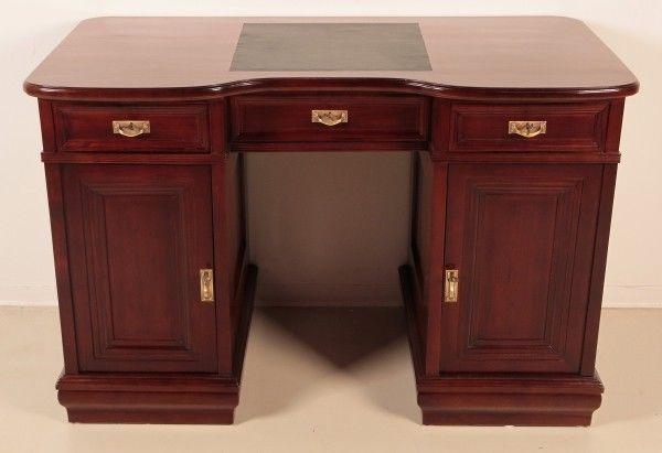Restaurierter Jugendstil Damen - Schreibtisch aus Mahagoni ...