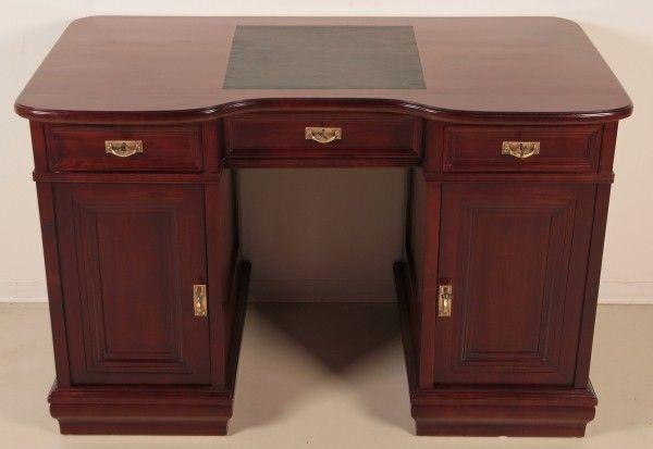 Restaurierter Jugendstil Damen - Schreibtisch aus Mahagoni Antik Kolosseum 2