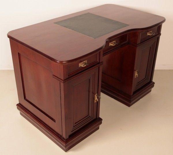 Restaurierter Jugendstil Damen - Schreibtisch aus Mahagoni Antik Kolosseum 3
