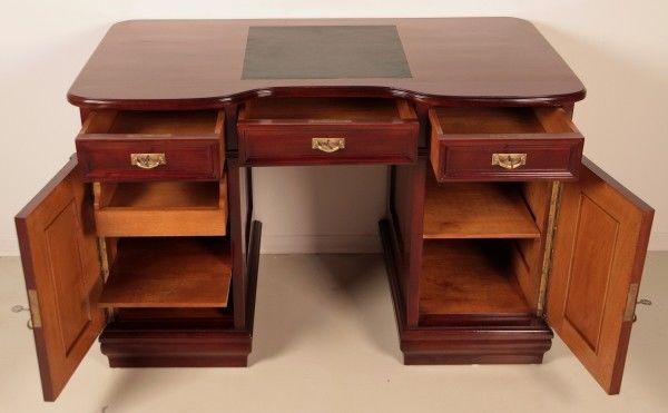 Restaurierter Jugendstil Damen - Schreibtisch aus Mahagoni Antik Kolosseum 6