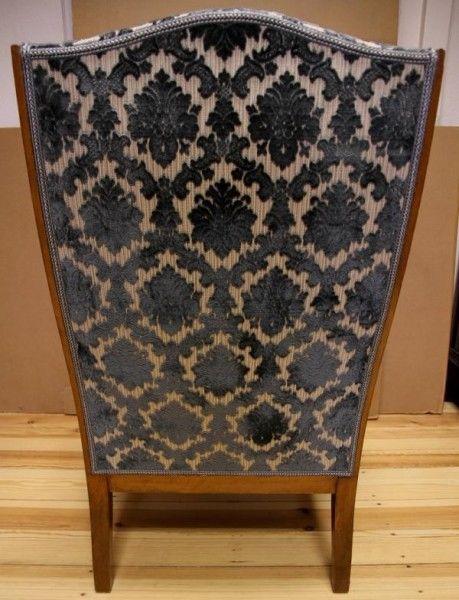Zauberhafter Biedermeier Ohrenbacken Sessel aus Kirschholz Antik Kolosseum 3