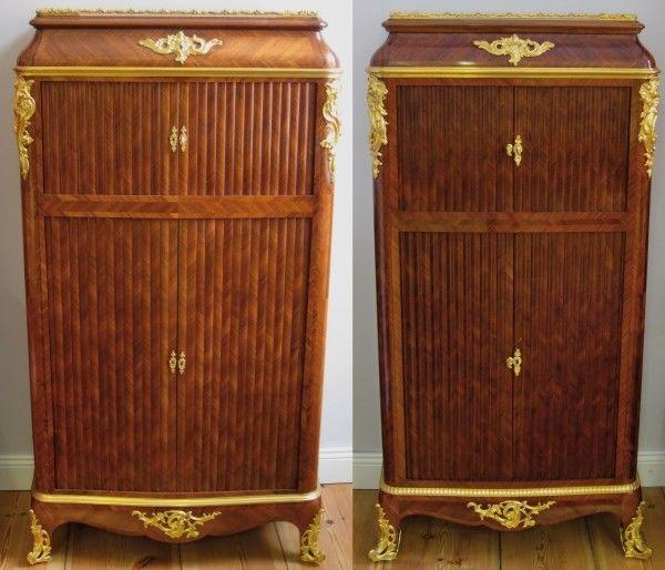 Zwei französische Pfeilerschränke aus der Louis XV Epoche Antik Kolosseum