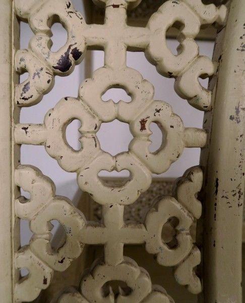 Original chinesisches Himmelbett mit schönen Schnitzereien Antik Kolosseum 11