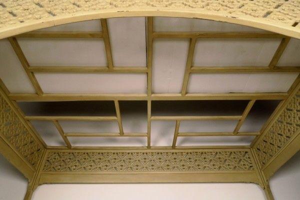 Original chinesisches Himmelbett mit schönen Schnitzereien Antik Kolosseum 6