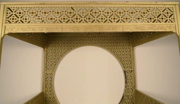 Original chinesisches Himmelbett mit schönen Schnitzereien Antik Kolosseum 7